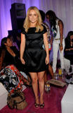 Hayden Panettiere in black dress looking beautiful at the Kira Plastinina USA Launch Party