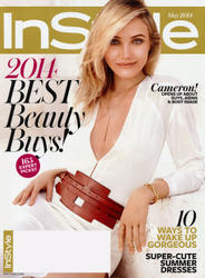 Cameron Diaz x13 Instyle (US) May, 2014