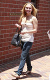 Hayden Panettiere shows some cleavage out and about in lLos Angeles