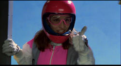 Amy Jo as Kimberly in Power Rangers