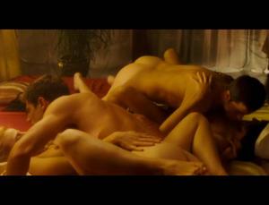 Bimba Bose orgy scene