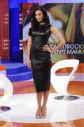 Меган Гэйл, фото 248. Megan Gale on Italian tv show 'Verissimo' - 04/11/11, foto 248