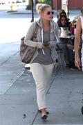 Elisha Cuthbert Out for lunch in West Hollywood 10/23/11