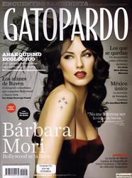 Барбара Мори, фото 59. Barbara Mori Gatopardo November 2009, foto 59
