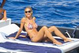 Michelle Hunziker | Bikini Candids on Vacation on the Island of Elba | August 16 | 68 hot pics