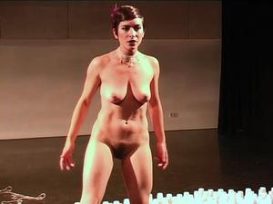 on stage video Nude