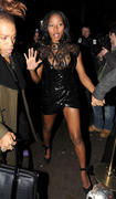 Jamelia at her birthday party at Club Movida London - 12-jan-11