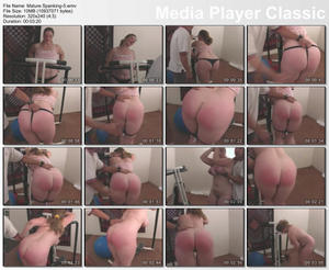 Re: (Chubby-Mature-Plumper) Woman being spanked Update Daily!