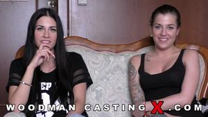 WoodmanCastingX Dellai Twins – Silvia and Eveline Dellai